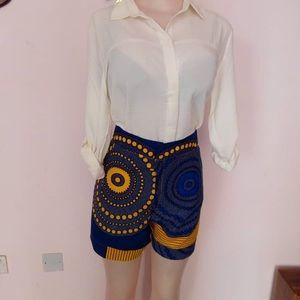 Pants - Cute Ankara Short